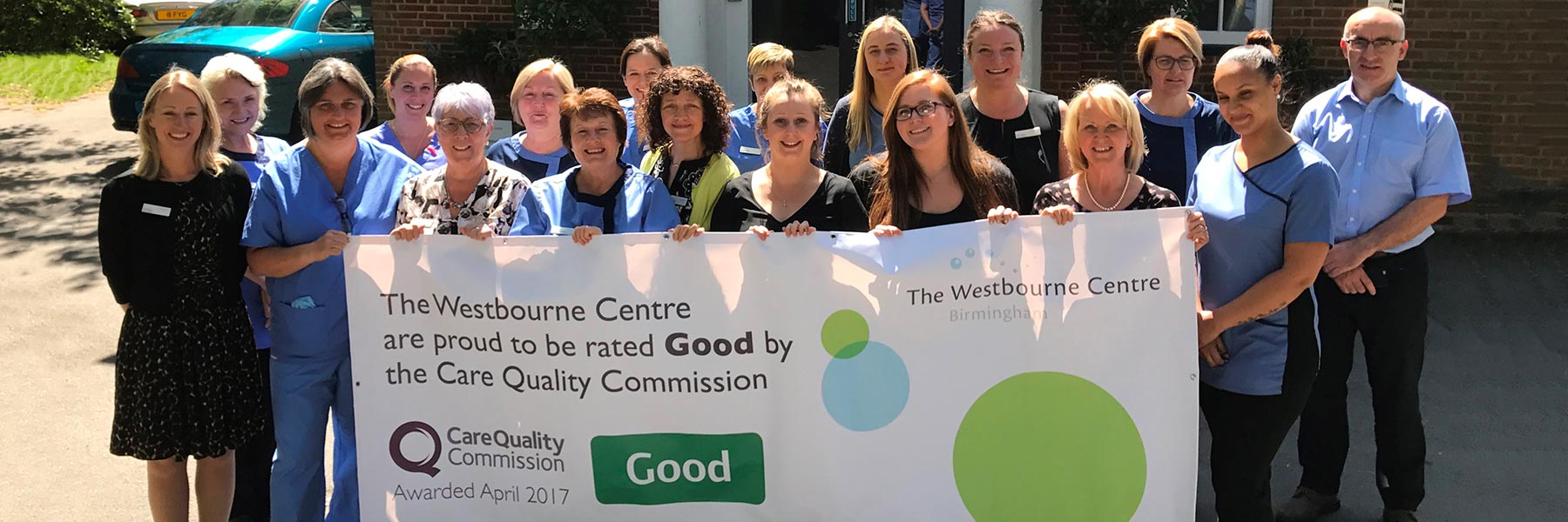 Westbourne Centre Rated Good by CareQuality Commission