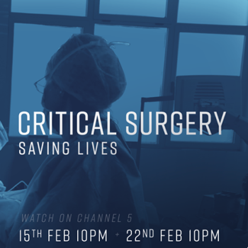 Mr Nishikawa featuring on Channel 5's Critical Surgery - Saving Lives